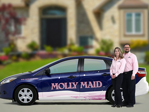 Molly Maid Cleaning Franchise employees