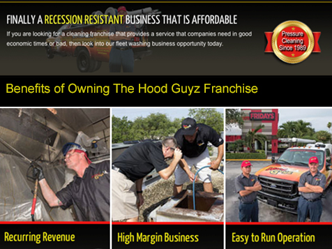 The Hood Guyz franchise advantages