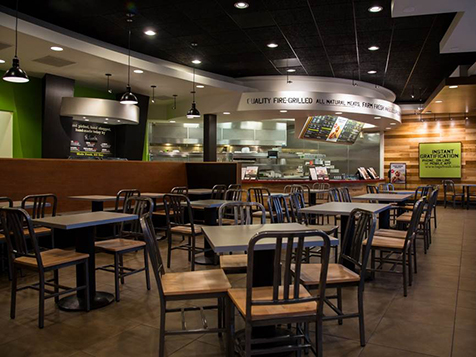 Baja Fresh Franchise Interior