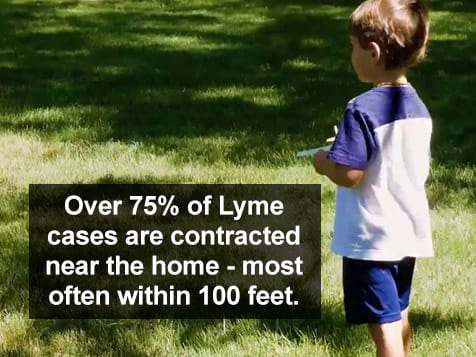 MMainely Ticks Franchise - Lyme disease contracted within 100 feet of home