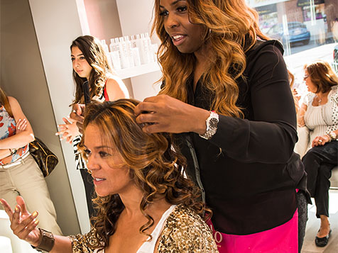 Inside a Blo Blow Dry Bar Franchise