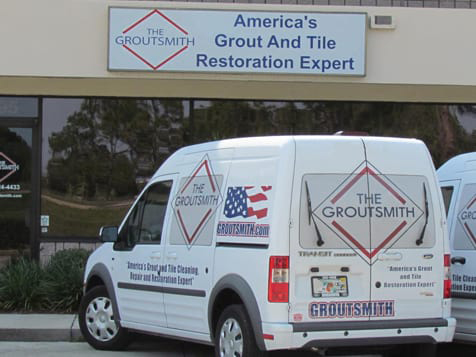 The Groutsmith Franchise Vans