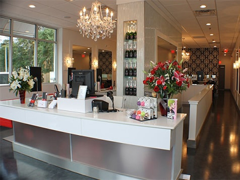 Inside a Cherry Blow Dry Bar Franchise
