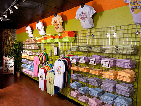 Big Frog Custom T-Shirt Franchise Display