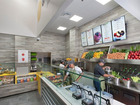 QWENCH juice bar franchise: balance between taste and nutrition