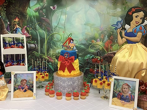 The Big Playhouse snow white birthday