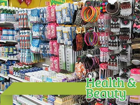 Dollar Store Health & Beauty Items