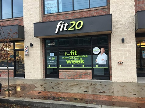 Outside a fit20 Franchise