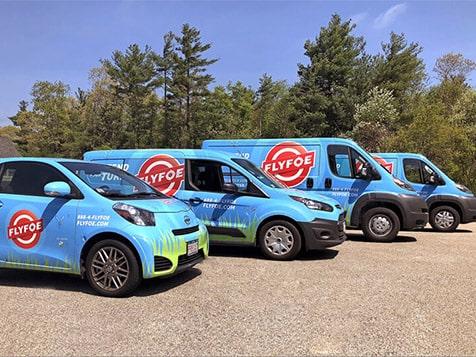 FlyFoe Franchise Vans