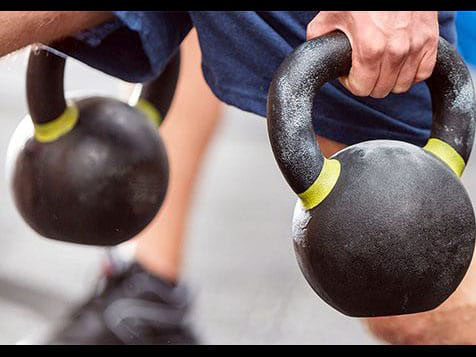 Kettlebells at Tough Mudder Bootcamp Franchise