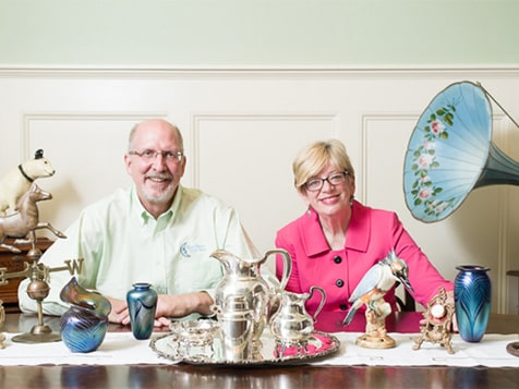 Blue Moon Estate Sales Franchise Founders Deb and David Blue