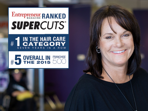 Supercuts Franchise - ranked #1 in the hair care category 7 years in a row