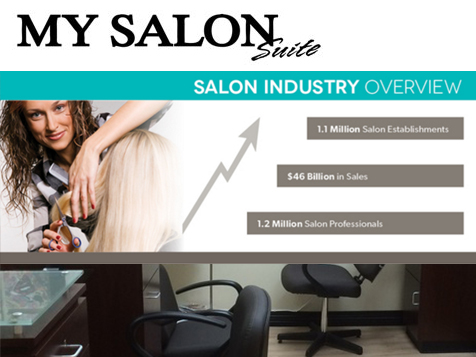 MY SALON Suite franchise industry overview