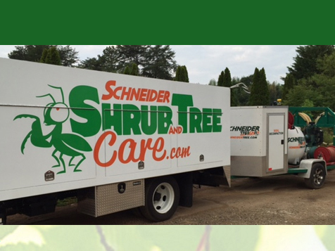 Schneider Shrub and Tree Care Franchise Truck