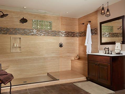 Completed Re-Bath Bathroom Remodeling Franchise Job