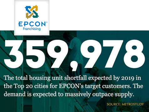 Epcon Communities Franchise Building shortfall