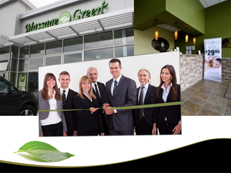 Massage Green Spa Franchise grand opening
