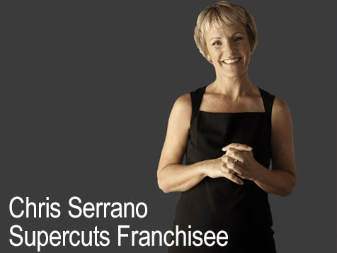Chris Serrano, Supercuts Franchisee