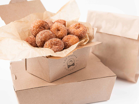 The Dapper Doughnut Franchise Mini Doughnuts