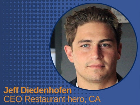 Restaurant Hero, Jeff Diedenhofen