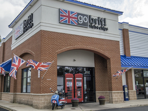 Open a go brit! authentic fish and chips shop