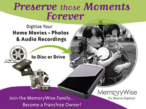 MemoryWise Franchise Preserves Memories
