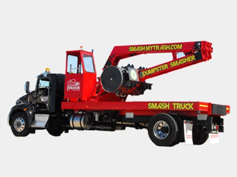 Innovative Smash My Trash Franchise Equipment