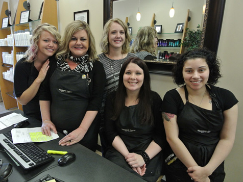 Hair Salon Employees