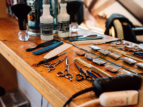 Tools of teh Bishops Barbershop Trade