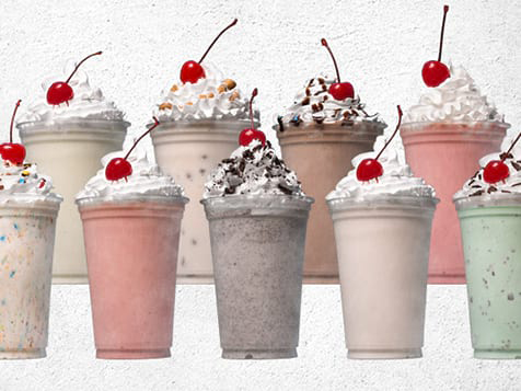 Real Ice Cream Shakes from MOOYAH Burgers, Fries & Shakes Franchise