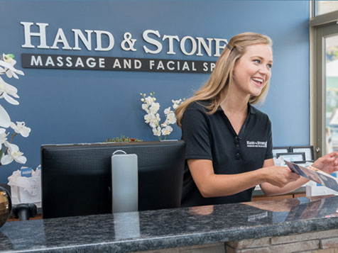 The Hand and Stone Massage Spa Franchise Front Desk