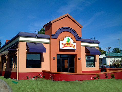 TacoTime Food Franchise Exterior