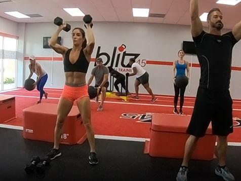 Blitz45 Franchise Group Training