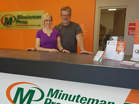 Minuteman Press International Franchise Video Testimonial