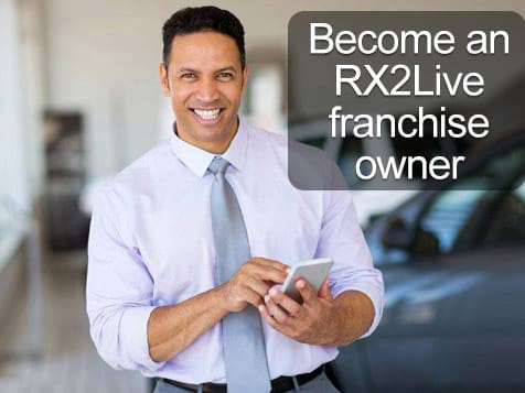 Become an RX2Live Franchisee