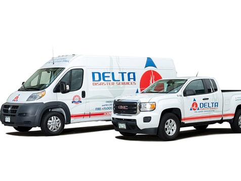 Delta Disaster Services Franchise Vehicles