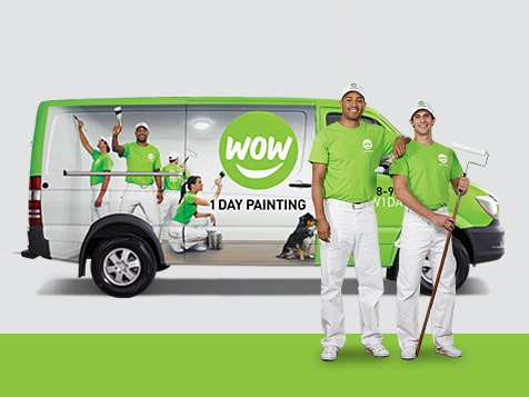 WOW 1 DAY PAINTING franchise vehicle