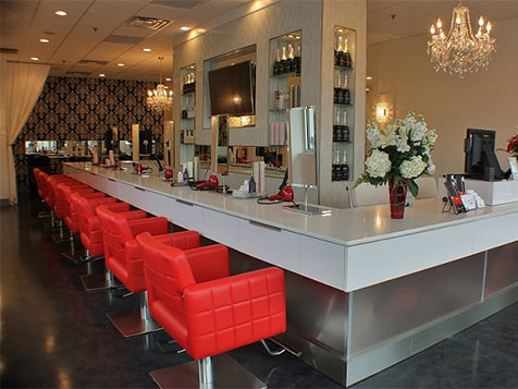 Cherry Blow Dry Bar Franchise Stations