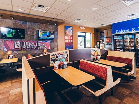 Dairy Queen Franchise Seating