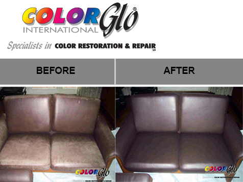 Color-Glo International franchise before and after