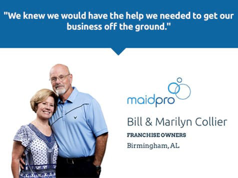 MaidPro Franchise Owners - The Colliers