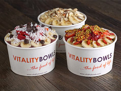 Superfood at Vitality Bowls Franchise