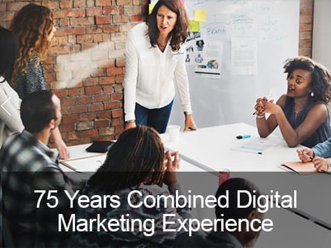 Digital Marketing Training Group 75 years combined experience