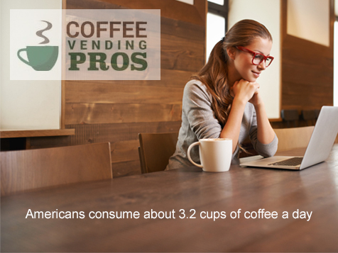Americans consume about 3 cups of coffee a day