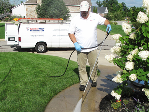 Power Washing by Sparkle Wash International Franchise