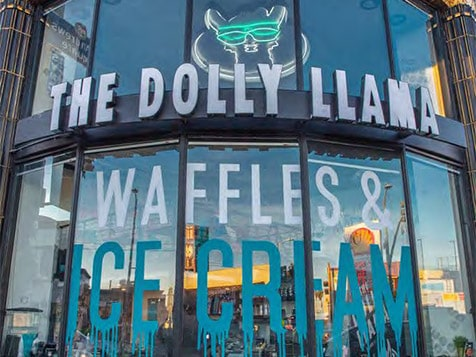 The Dolly Llama Franchise Exterior
