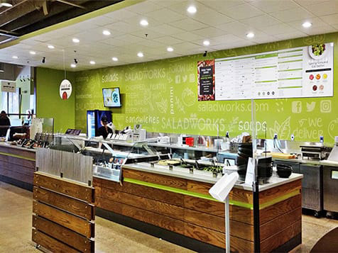 Inside a New Saladworks Franchise