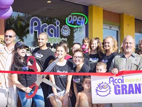 Acai Express Franchise Grand Opening