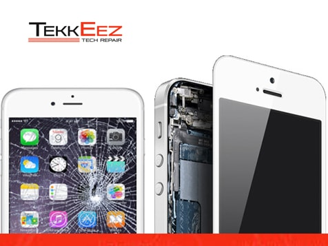TekkEez Tech Repair Business - Broken iPhone