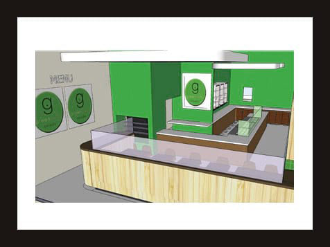 Greenbelly Franchise - layout design